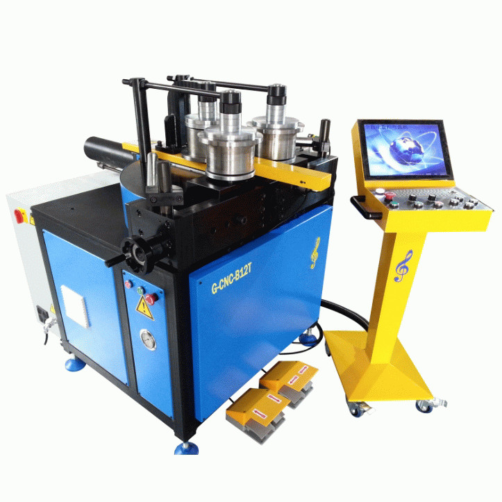 Automatic CNC Pipe Bending Machine PLC Control For Carbon / Stainless Steel